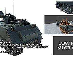 Low Poly M163 VADS 3D asset