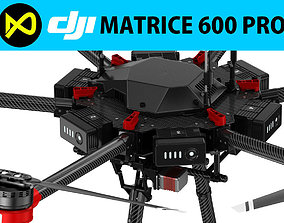 3D model DJI Matrice 600 Pro electronics