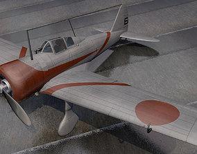 3D model Nakajima Ki-27 Nate