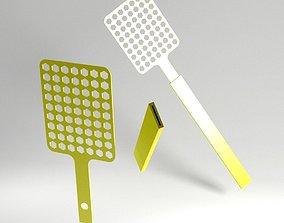 pest-control 3D print model fly swatter