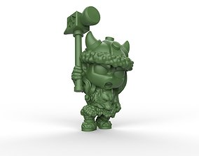 Wulfgar Chibi 3D print model