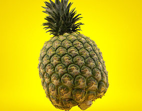 fruit Imperial Pineapple 3D Scan