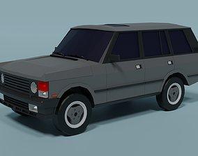 3D asset Range Rover Classic
