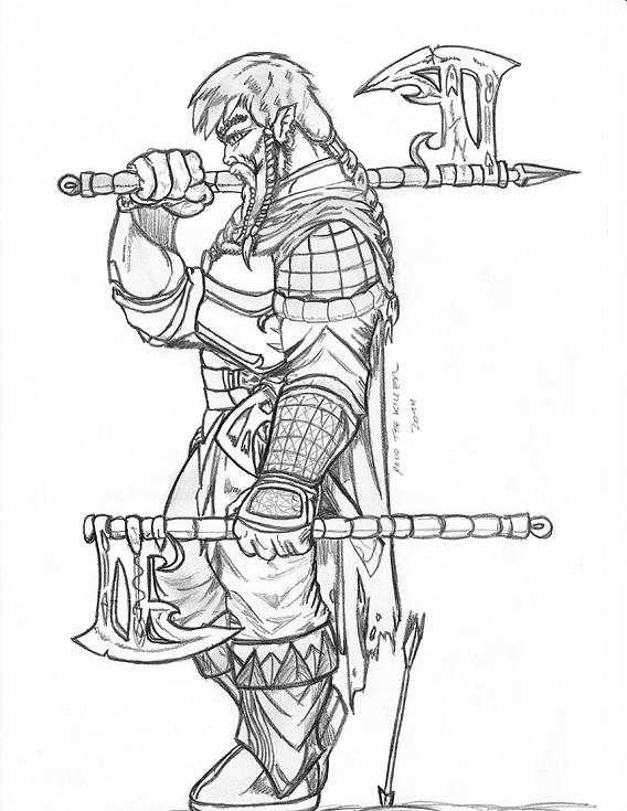Sarky the warrior