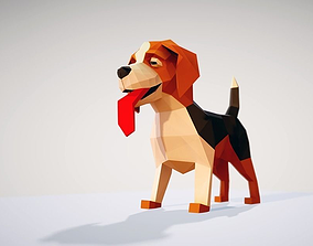 3D model Dog Beagle