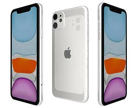 3D Apple iPhone 11 White honor