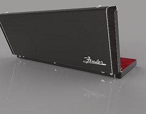 Fender Stratocaster with original case 3D printable model