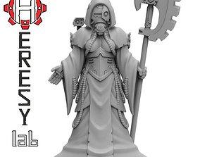 Heresylab - Female Tech Priest 3D printable model