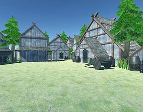 Viking Village - UNITY - MOBILE READY 3D asset