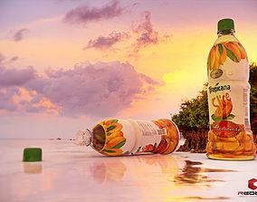 tropicana slice alphonso bottle 3D model