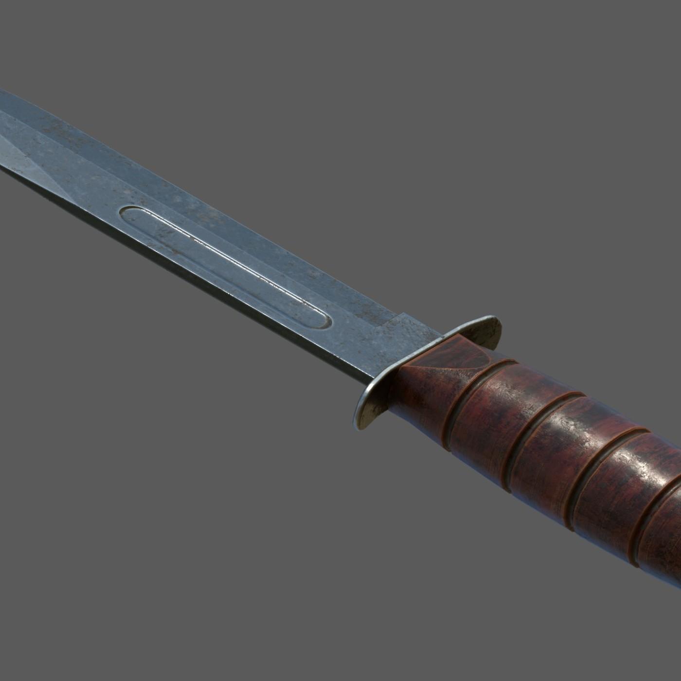 Close Fight Combat Knife