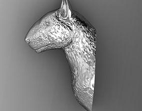 3D print model Bull terrier head