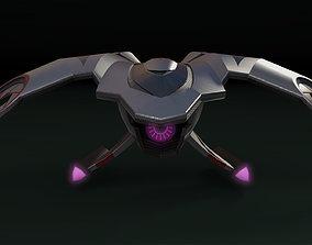 3D asset Spy drone