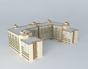 Social Housing 3D model