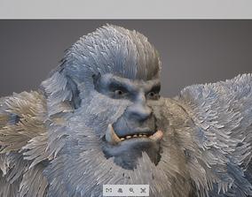 Animal Game-ready - Yeti 3D model