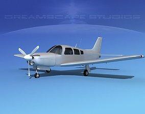Piper Turbo Arrow 240 V00 3D model