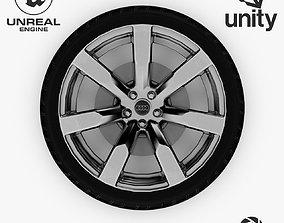 3D asset Wheel Steel-Chrome Alloy Rim Audi 19 3