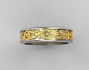 Design ring with ornament 3D print model