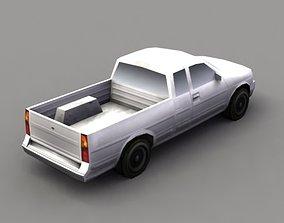 3D asset realtime Pickup Truck Game