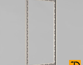 3D print model profile Frame for the mirror