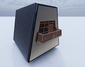 3D Cabin Alt 2
