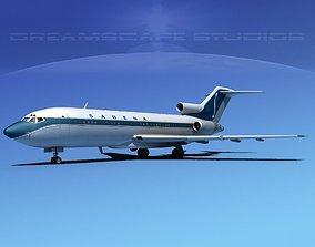 3D model Boeing 727-100 Sabena 2