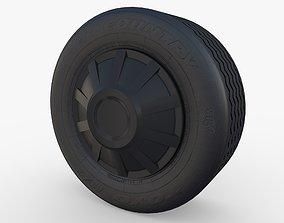 3D model Tesla Truck Wheel 1