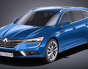 3D Renault Talisman Estate 2018 VRAY