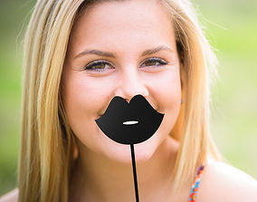 3D printable model lips stick 01