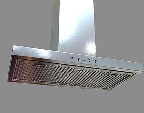 3D model Rangehood Smeg SA940CXA