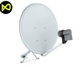 3D model Home Satellite Dish