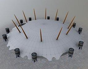 London O2 Millennium 3D asset