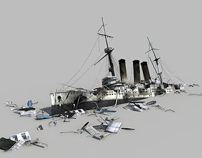Broken Ship 3D