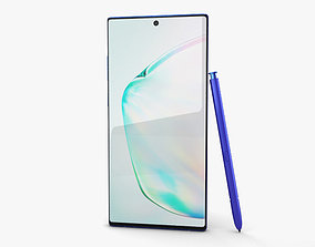 3D Samsung Galaxy Note10 Plus Aura Blue