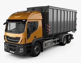 Iveco Stralis X-WAY Hook Lifter Truck 2017 3D model