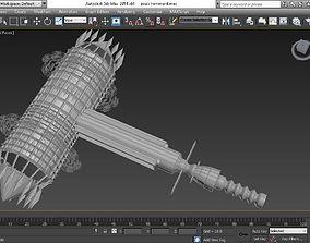 3D asset Zouls Hammord