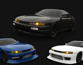 3D model realtime Nissan Silvia S14 Tuning