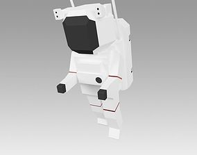 3D model game-ready Astronaut