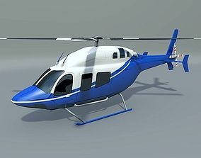 Bell 429 civilian helicopter 3D