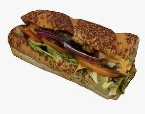 3D Subway Sandwich