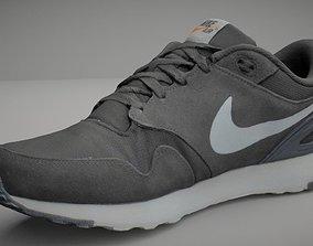 realtime Nike shoe low poly 3D model fashion