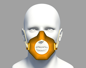 PROTECTIVE MASK covid-19 3D printable model