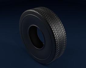3D Car tire car