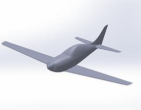miniatures Speedy aircraft 3D printable model