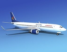 Boeing 737-800 Egypt Air 3D model