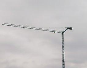 3D model City Crane - Tower Crane work