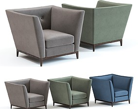 The Sofa and Chair Co - Tate Armchair 3D