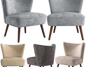 Vermont Chair leg 3D