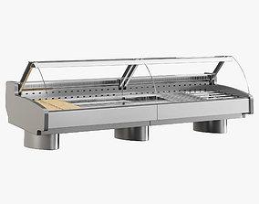 Supermarket Freezer Tecto 6 3D model