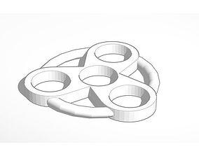 Atomic Fidget Spinner 3D printable model